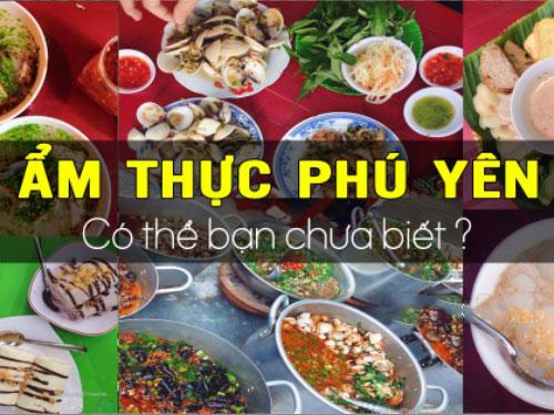 Khám phá ẩm thực Sông Cầu - Phú Yên